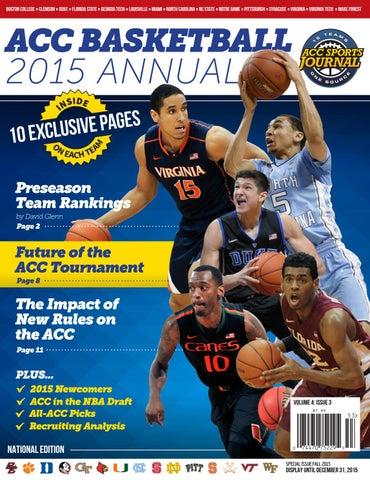 0b95ba46359 ACC Basketball - 2015 Annual by Greg de Deugd - issuu