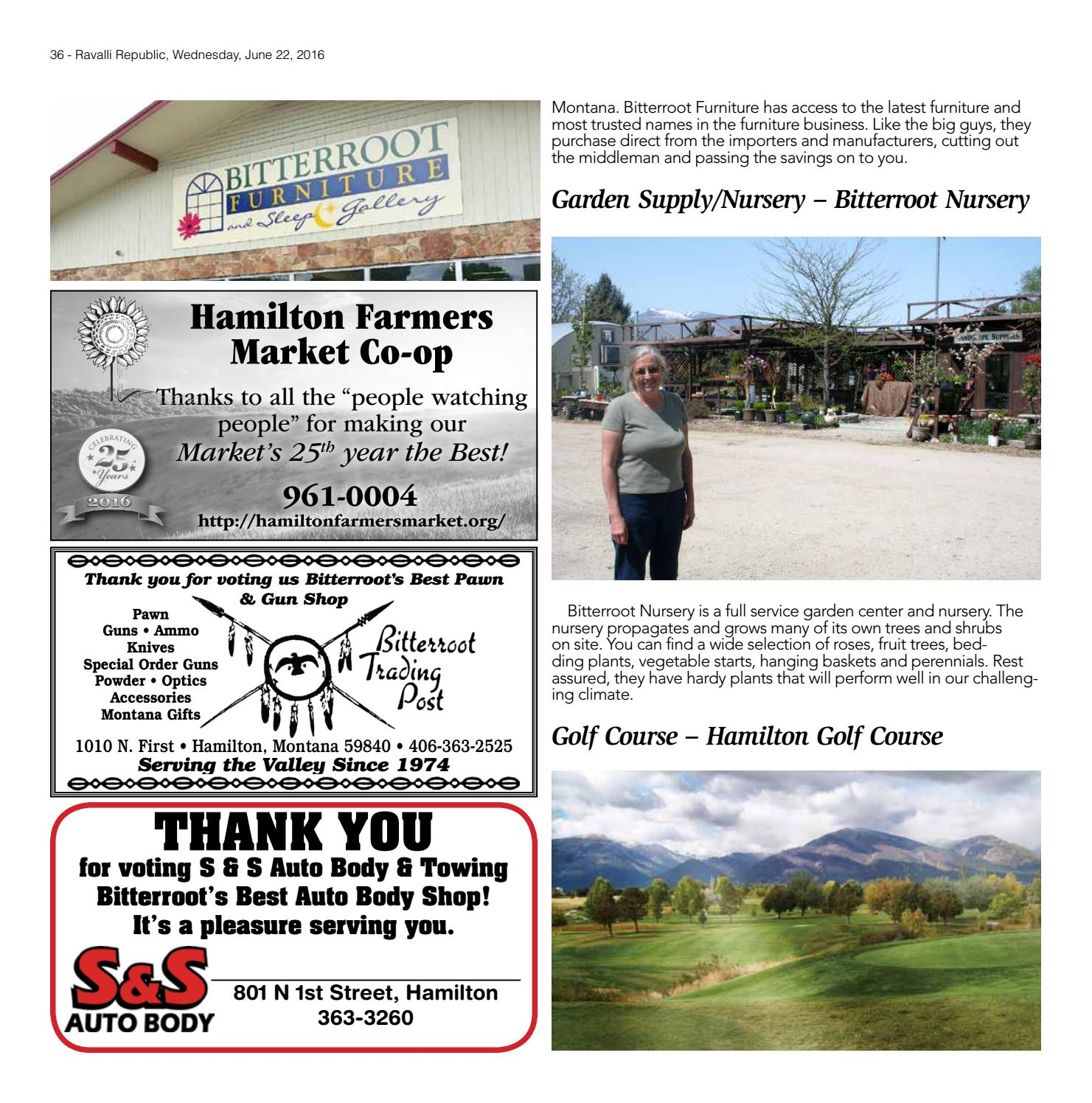 Bitterrootu0027s Best 2016 By Ravalli Republic   Issuu