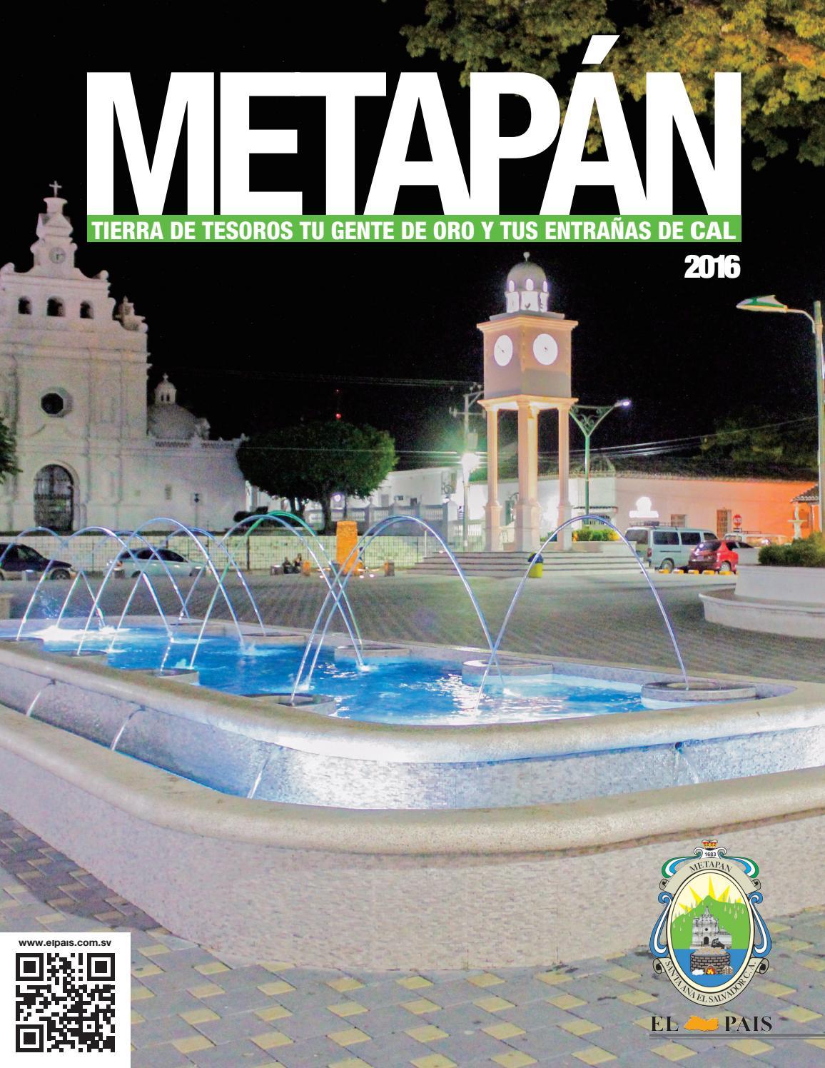Revista Fiestas Patronales Metapan 2016 By Periodico El Pais El