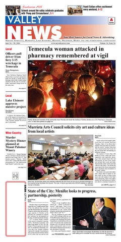 0384276115 Temecula Valley News by Village News
