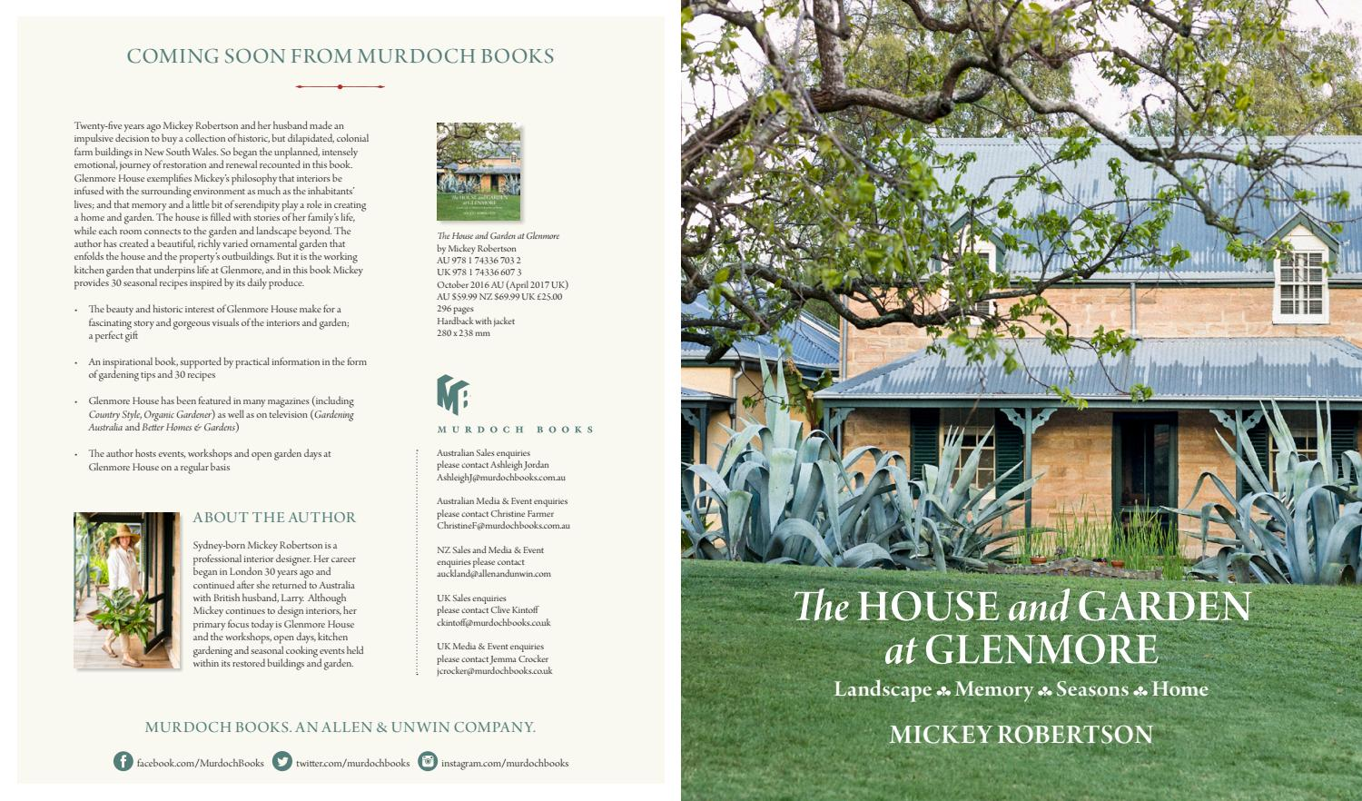 the house and garden at glenmore mickey robertson october 2016 by the house and garden at glenmore mickey robertson october 2016 by murdoch books issuu