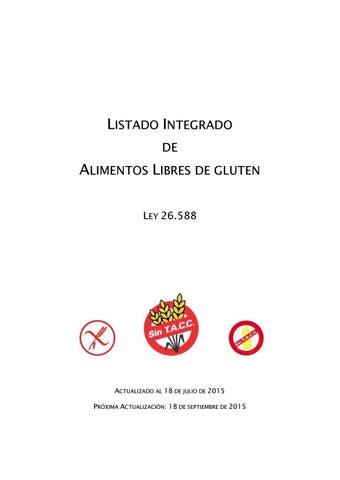 b1cc47f74 Alimentos sin gluten 18 07 2015 by takechi - issuu