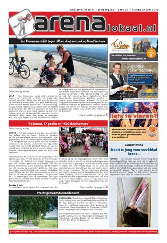 Lucius Kantoormeubelen Schijndel.Weekblad Arenalokaal Week 32 2012 By Arenalokaal Lnn Tekst