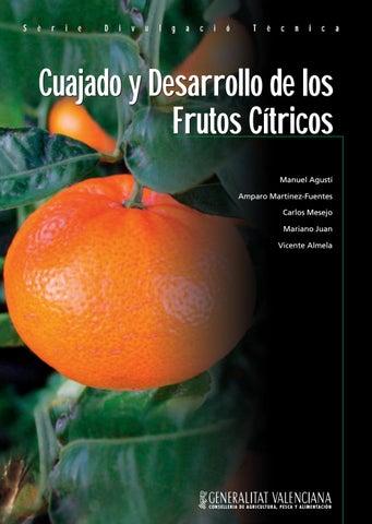 Cuajado y desarrollo de los frutos cítricos by Horticultura ...