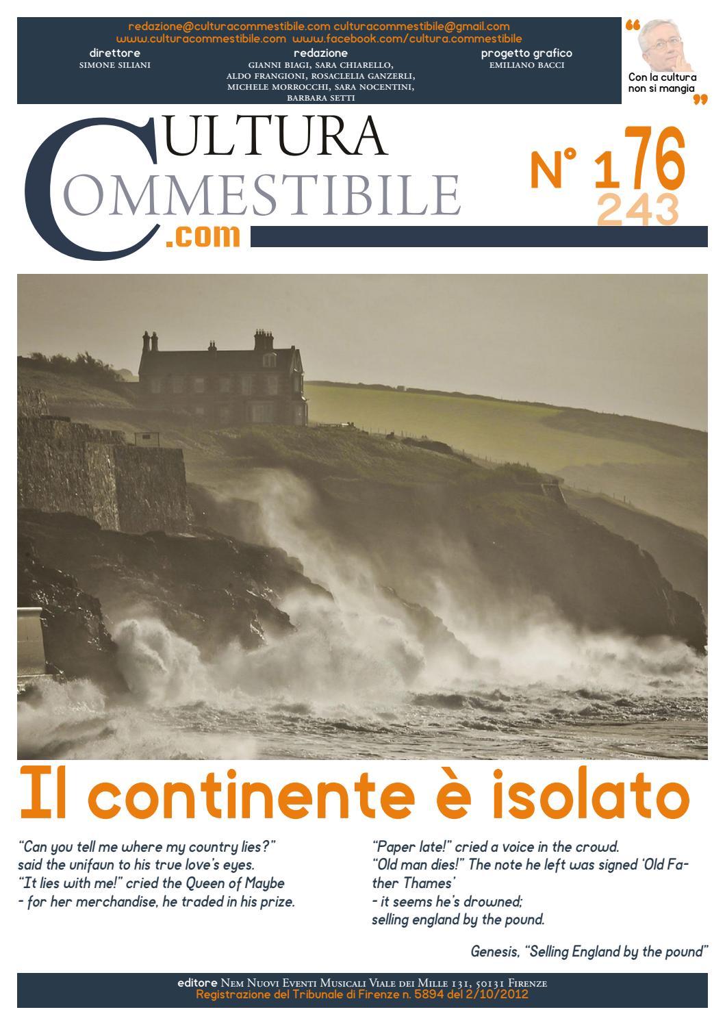 4105d9b105 Cultura Commestibile 176 by Cuco CulturaCommestibile - issuu