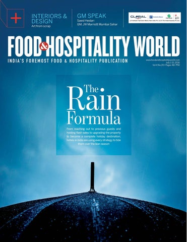 Food and hospitality world vol4 no20 july 1 15 2016 by indian page 1 stopboris Image collections