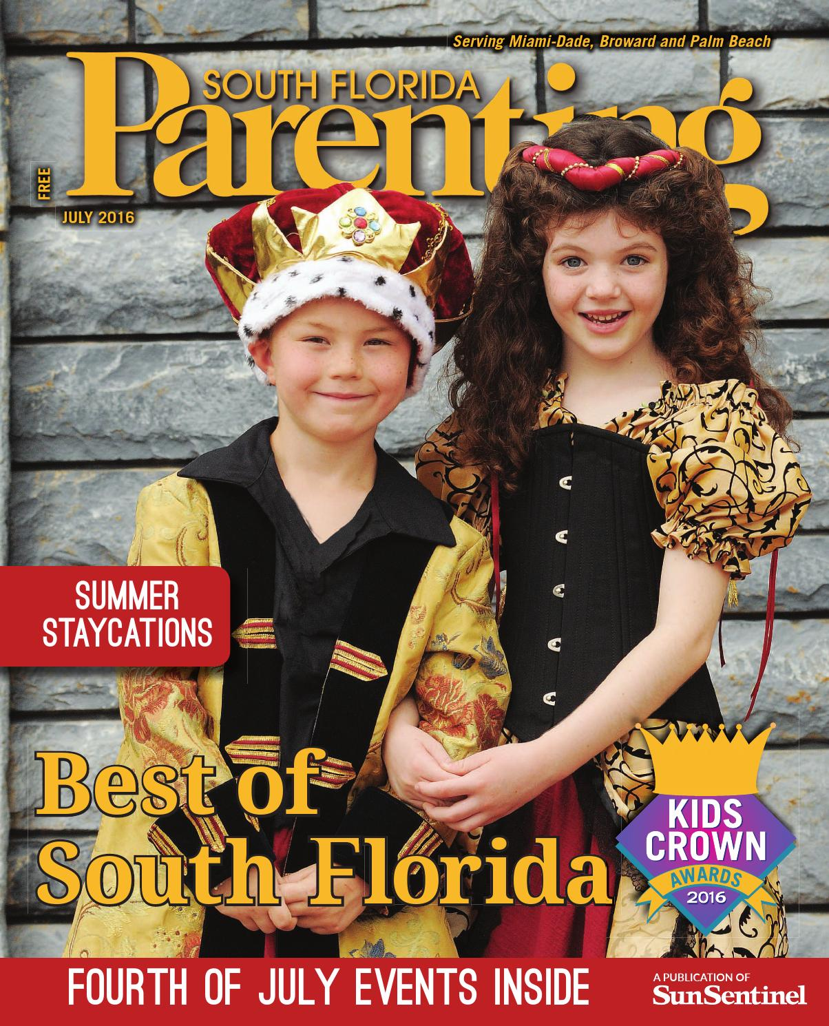 f992c800b377 South Florida Parenting July 2016 by Forum Publishing Group - issuu