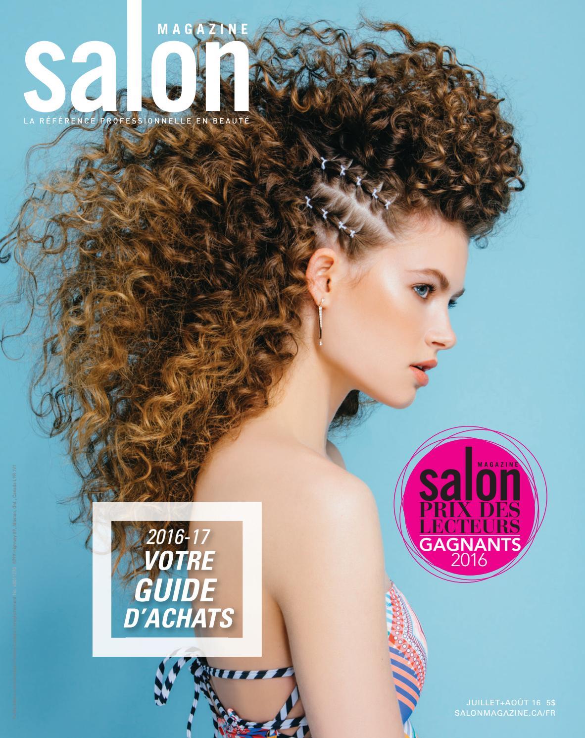 Hair amp nail choices aiibeauty - Salon Magazine Dition Fran Ais Juillet Ao T 2016 By Salon Communications Inc Issuu