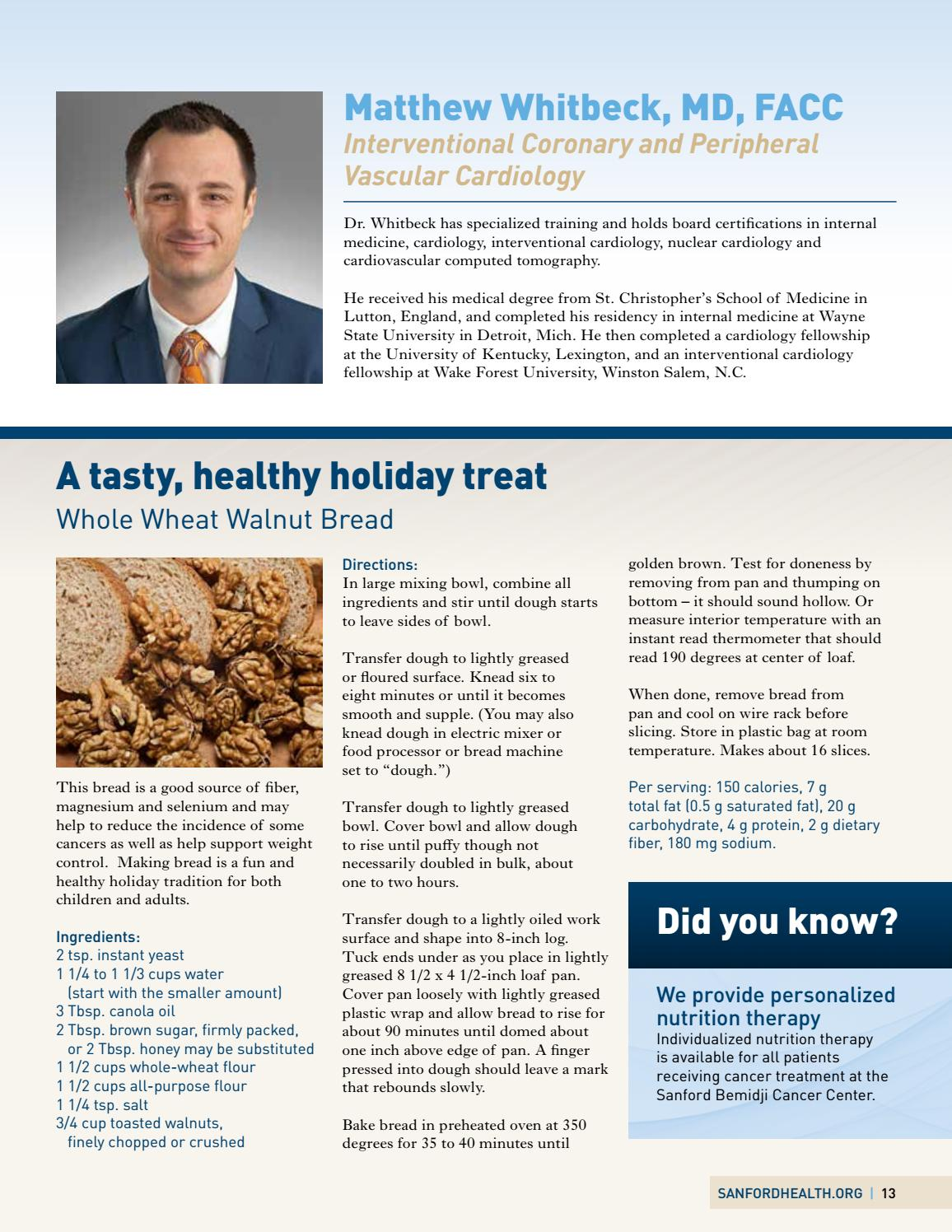 Winter 2015 by Sanford Health - issuu
