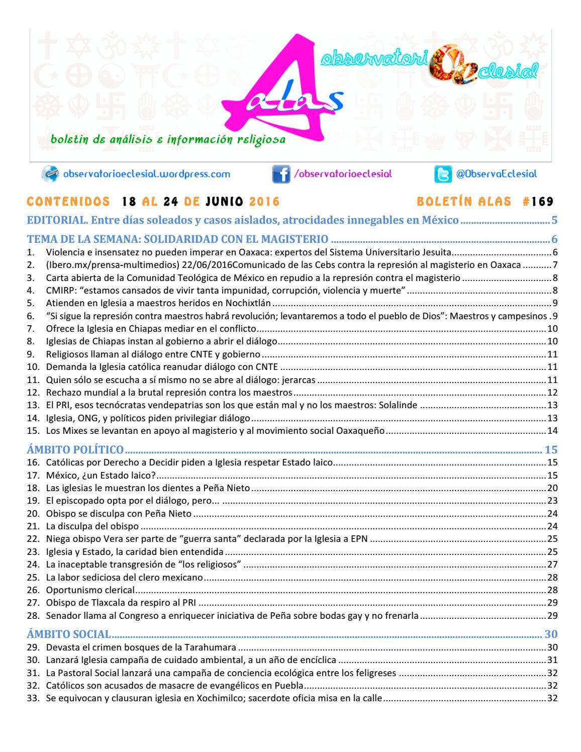 BOLETIN ALAS-OE 169 by Boletín Alas-OE - issuu