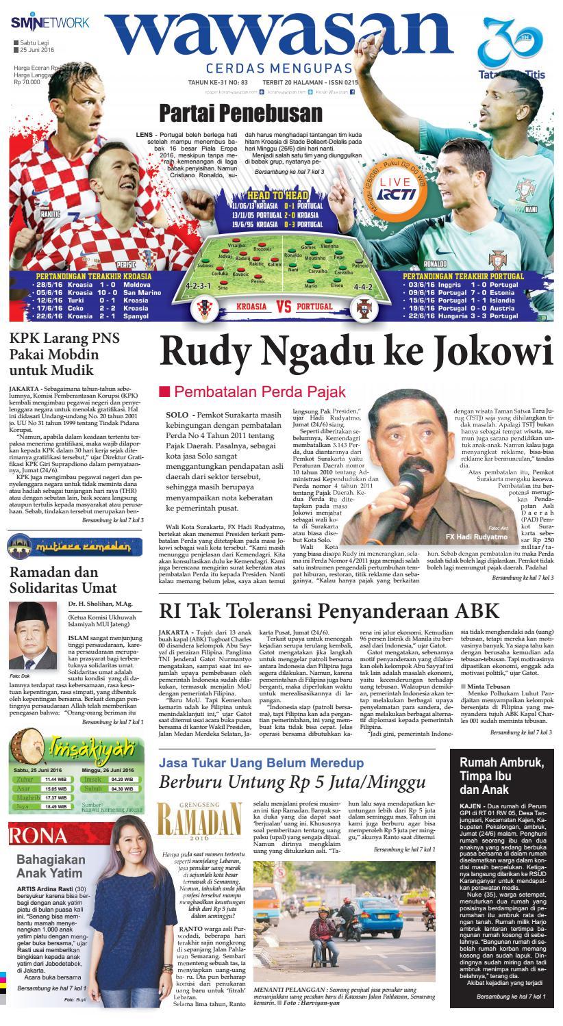Wawasan 23 Juni 2016 By Koran Pagi Issuu Produk Ukm Bumn Sastra Organdi Biru 25