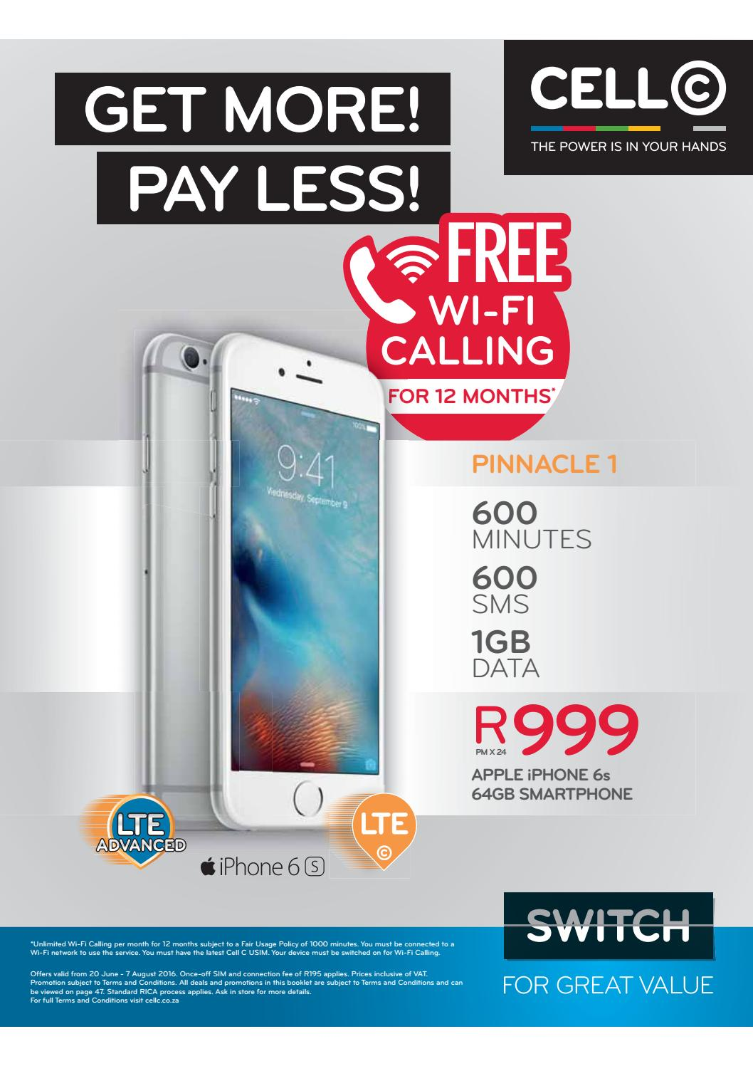 Cell C Franchise Booklet June Aug 2016 By Cell C South Africa Issuu