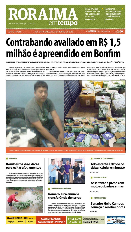 9fc255b150e Jornal roraima em tempo – edição 365 – período de visualização gratuito by  RoraimaEmTempo - issuu