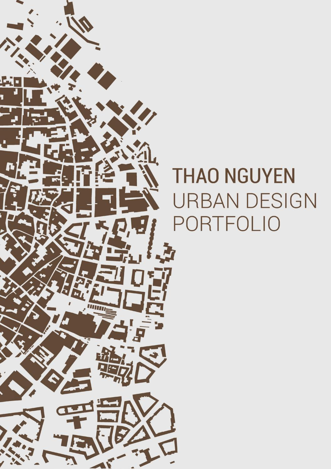 urban design portfolio by vi th u1ea3o nguy u1ec5n th u1ecb