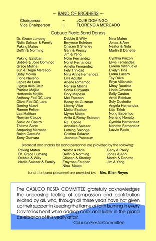 Cabuco Fiesta Cavite City 2006 By JIbrail Publishing And Printing