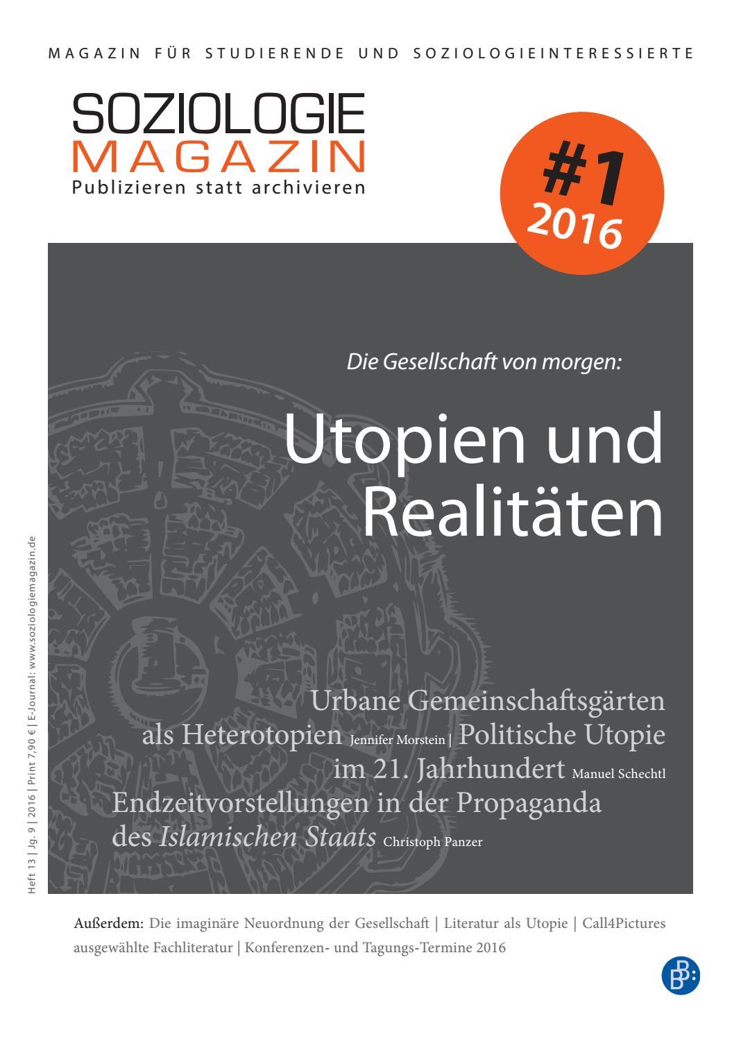 Pdf Review Of Geschichte Der Utopie Eine 14