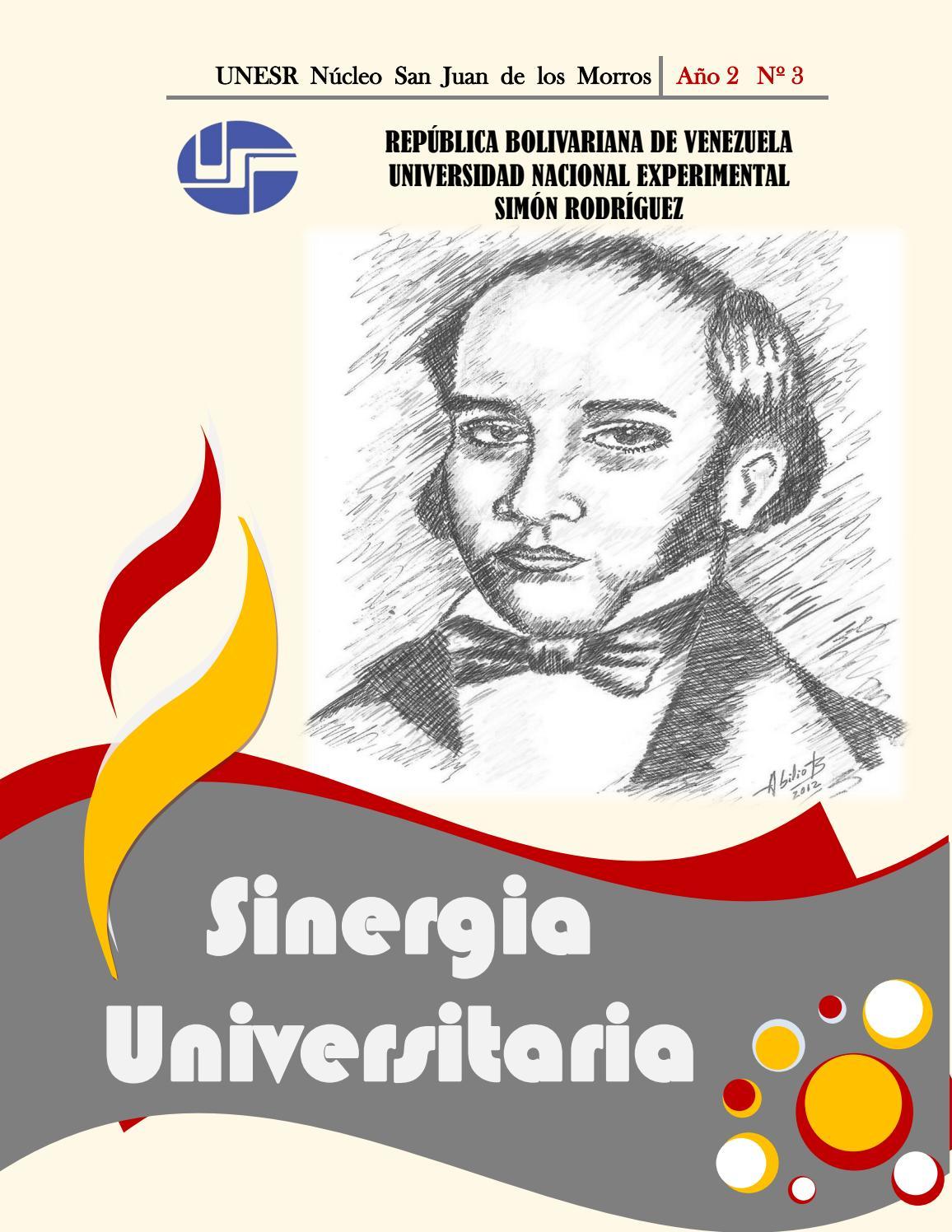 3er volumen revista sinergia universitaria by SINERGIA UNIVERSITARIA ...