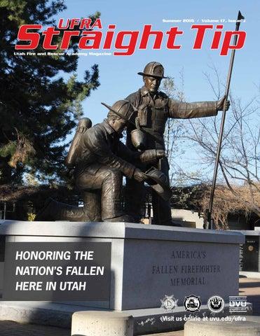 UFRA Straight Tip Summer 2016 - Volume 17, issue 3 by ...