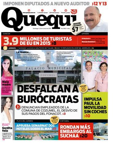 8162312bc6 Imponen dIputados a nuevo audItor ›12 y 13 www.quequi.com.mx