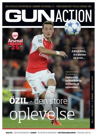 22b09dd4 GunAction #3, Feb. 2016 by Arsenal Denmark - issuu