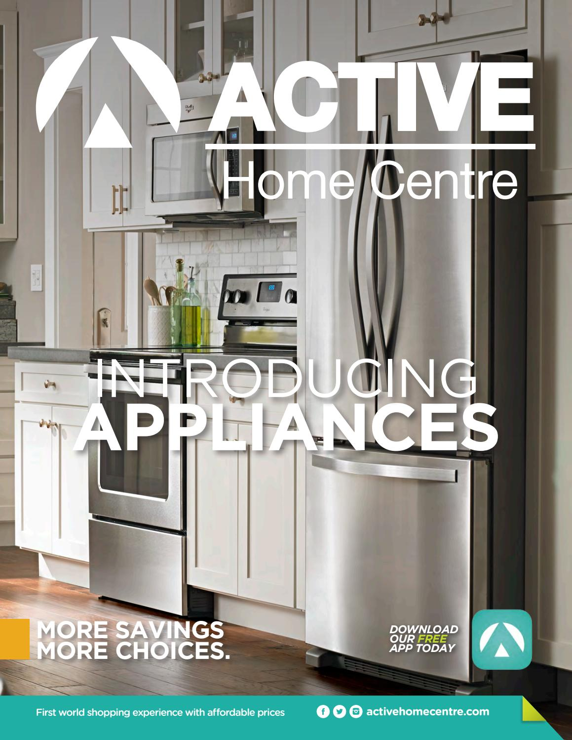 Active Home Centre Appliance Catalogue June 2016 By