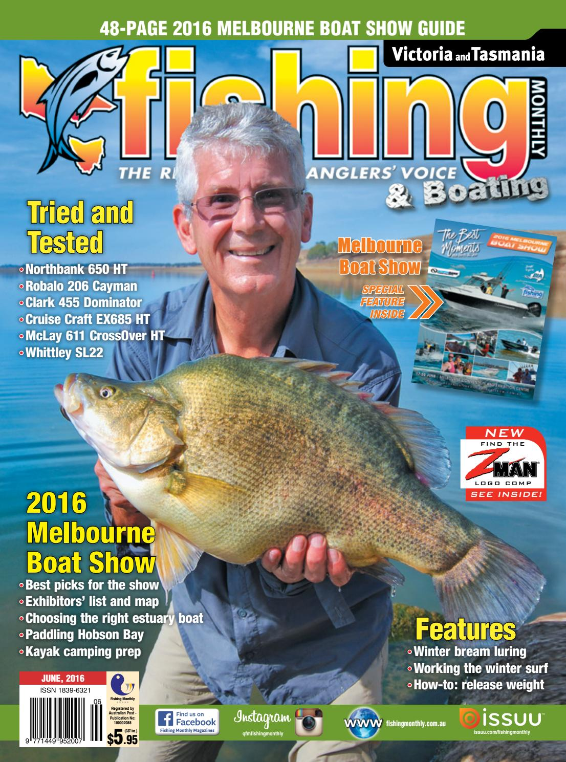Victoria and Tasmania Fishing Monthly - June 2016 by Fishing