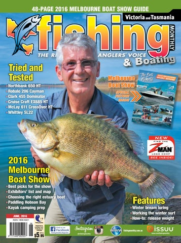 8702c470d2e Victoria and Tasmania Fishing Monthly - June 2016 by Fishing Monthly ...