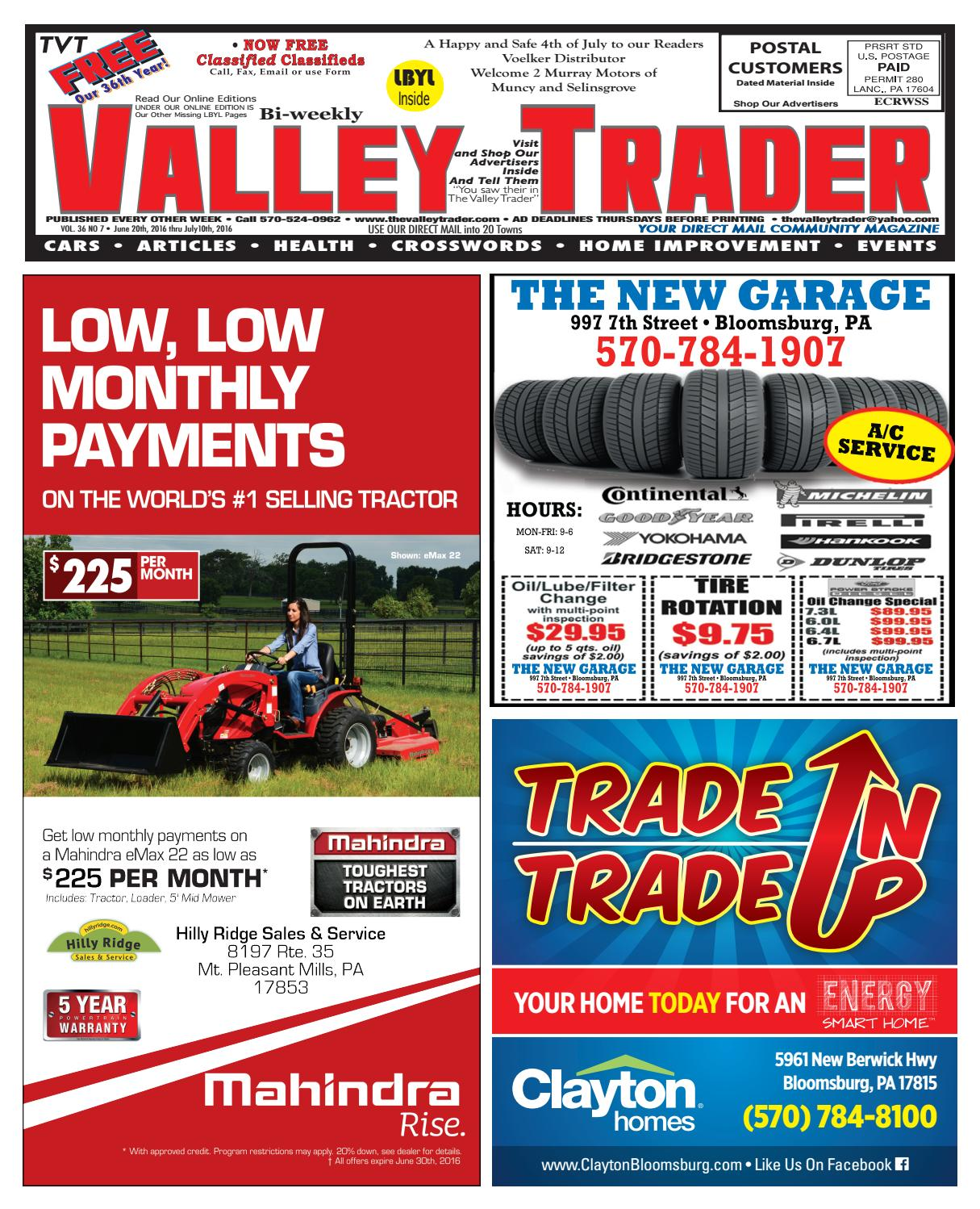 Tvt 6 27 16 By The Valley Trader Issuu