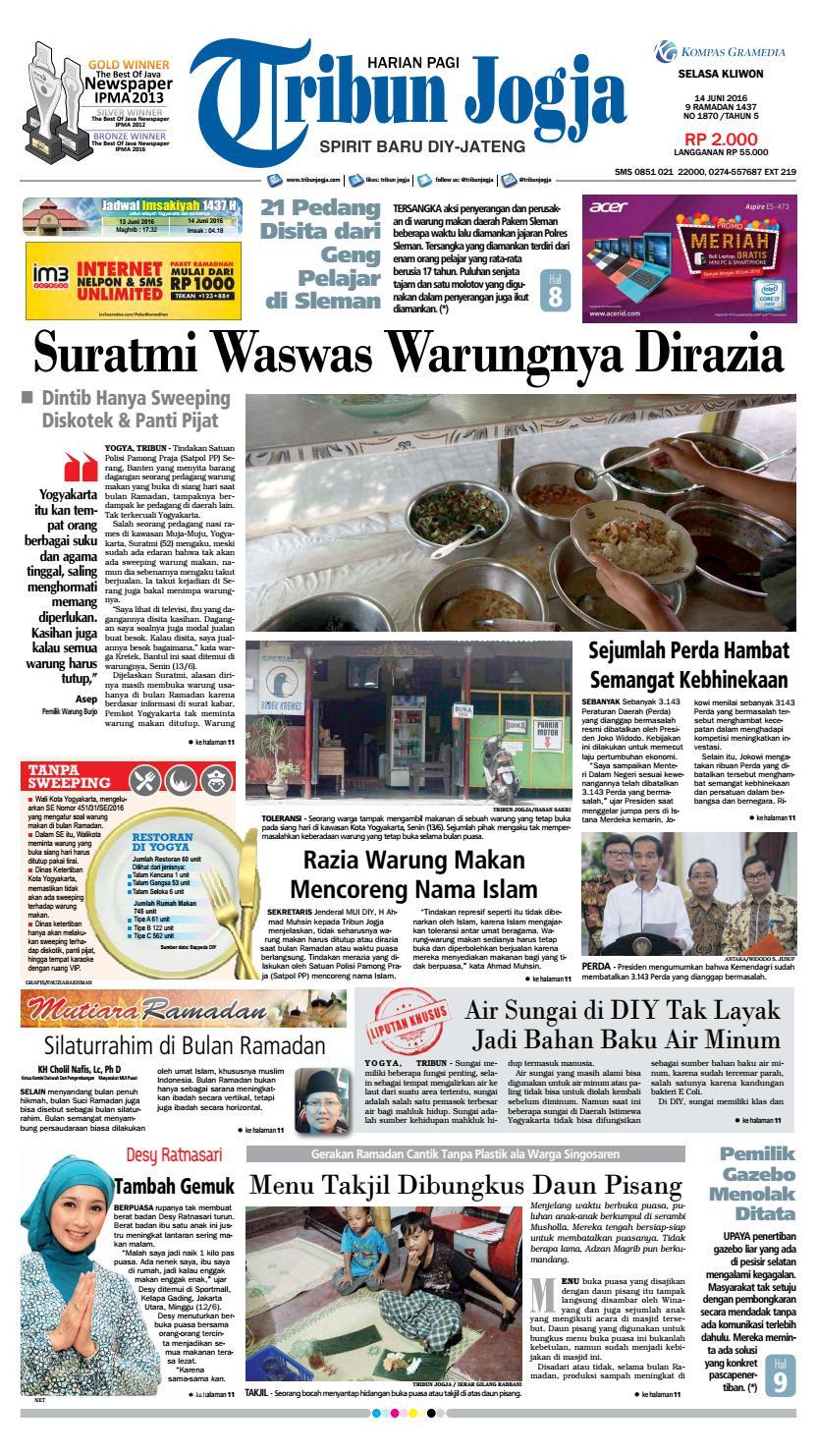Tribunjogja 18 06 2015 By Tribun Jogja Issuu Produk Ukm Bumn Shifudo Bakso Ikan 500g Free Ongkir Depok Ampamp Jakarta 14 2016