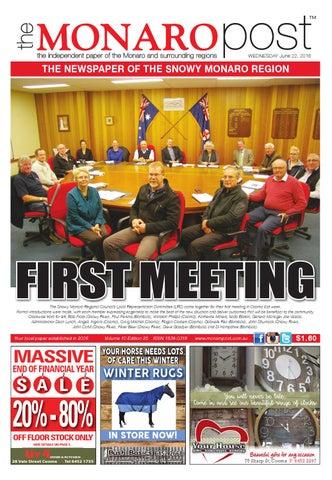 the Monaro Post June 22, 2016 by Monaro Post - issuu