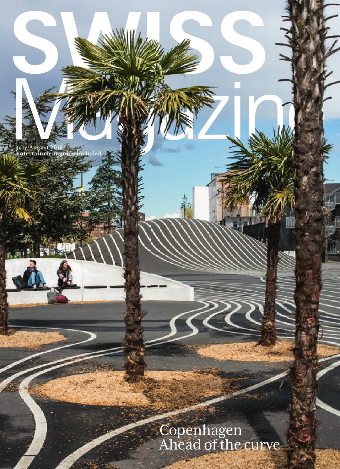 SWISS Magazine July/August 2016 - COPENHAGEN by Inflight Magazines ...