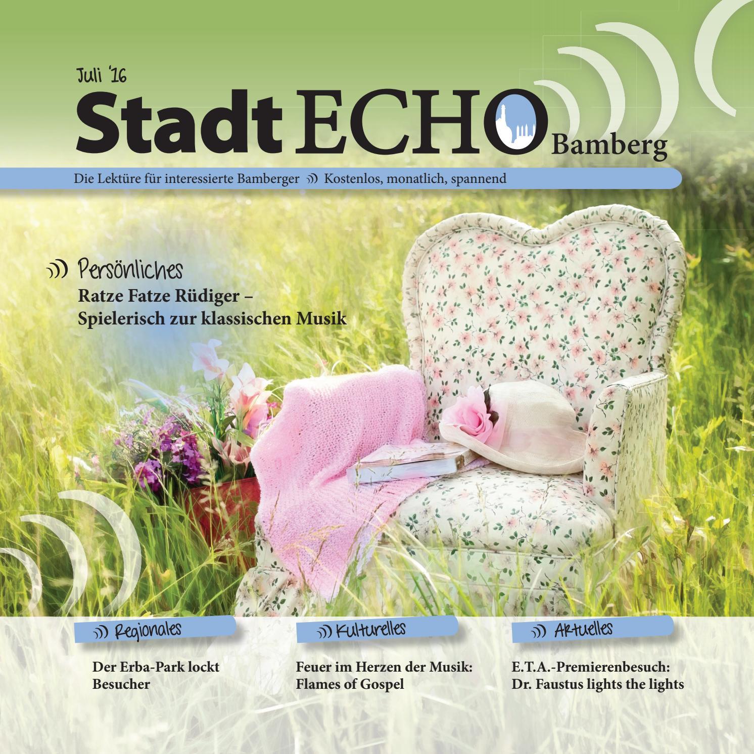 StadtECHO Bamberg Ausgabe 07 2016 by StadtECHO Bamberg - issuu