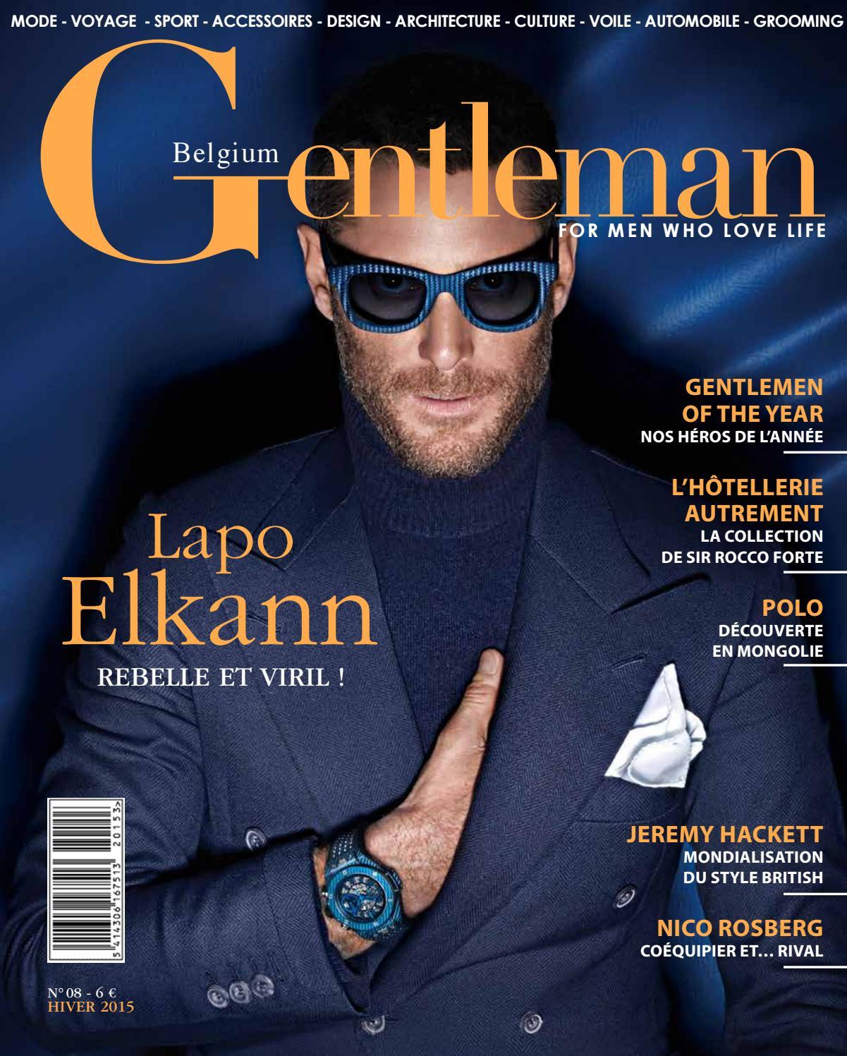Gentleman 08 FR by gentlemanmag.be - issuu 1e234566f545