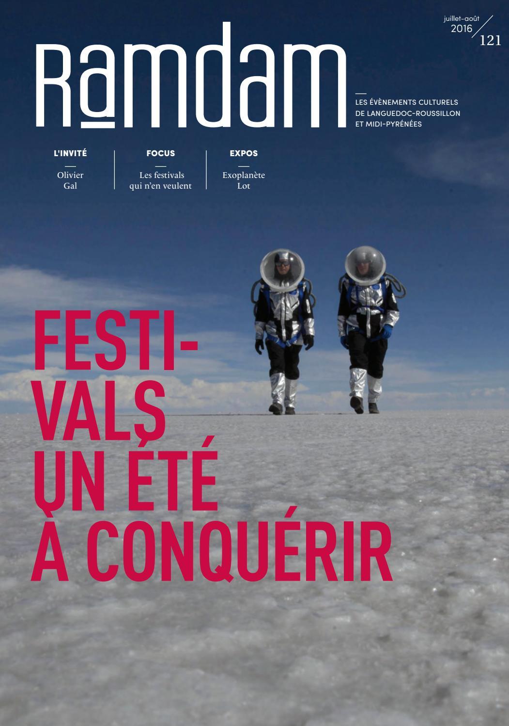 Ramdam N 121 Juillet Aout 2016 By Magazine Ramdam Issuu