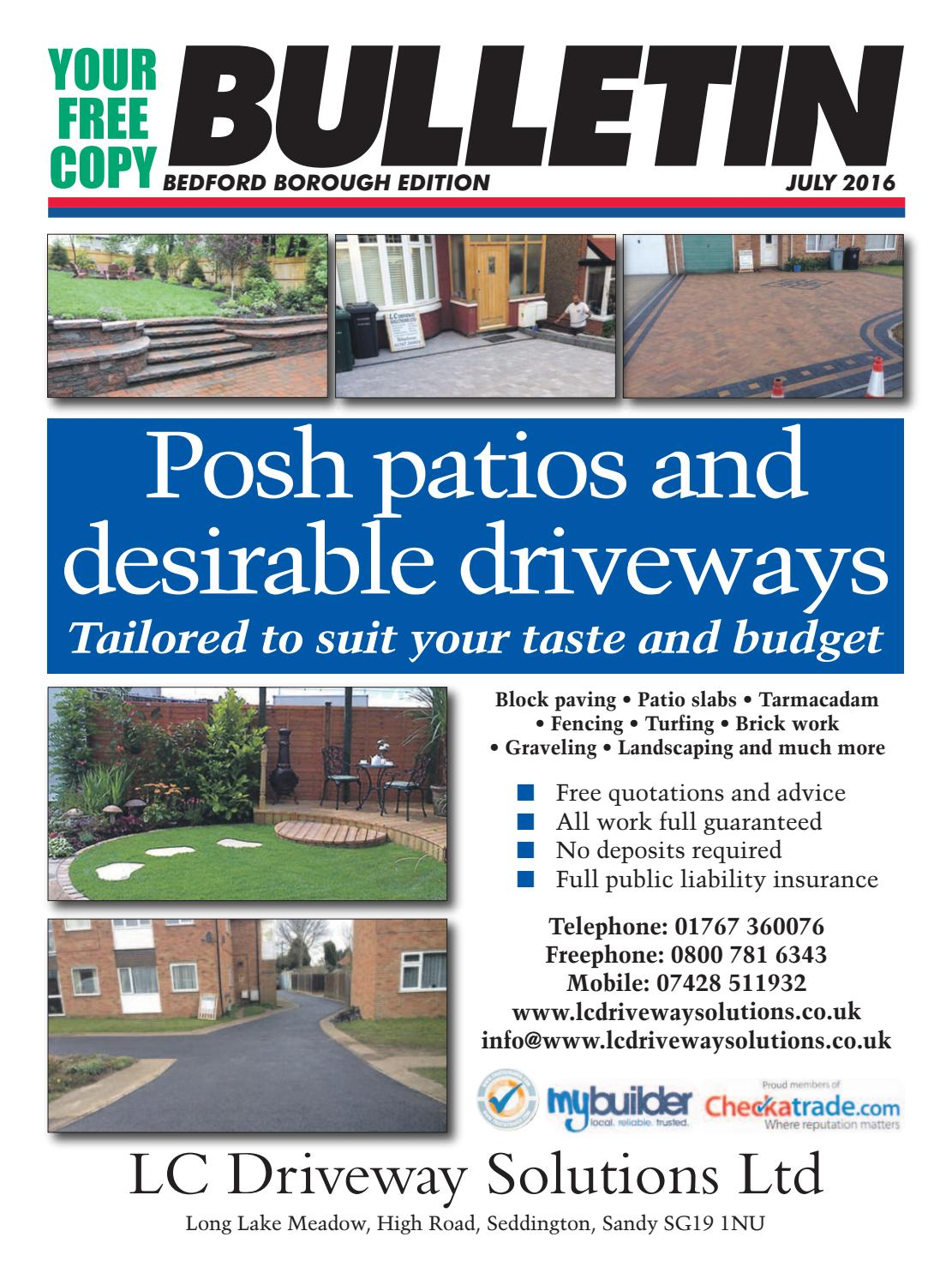 Bedford Bulletin June 2016 By Martin Quince   Issuu