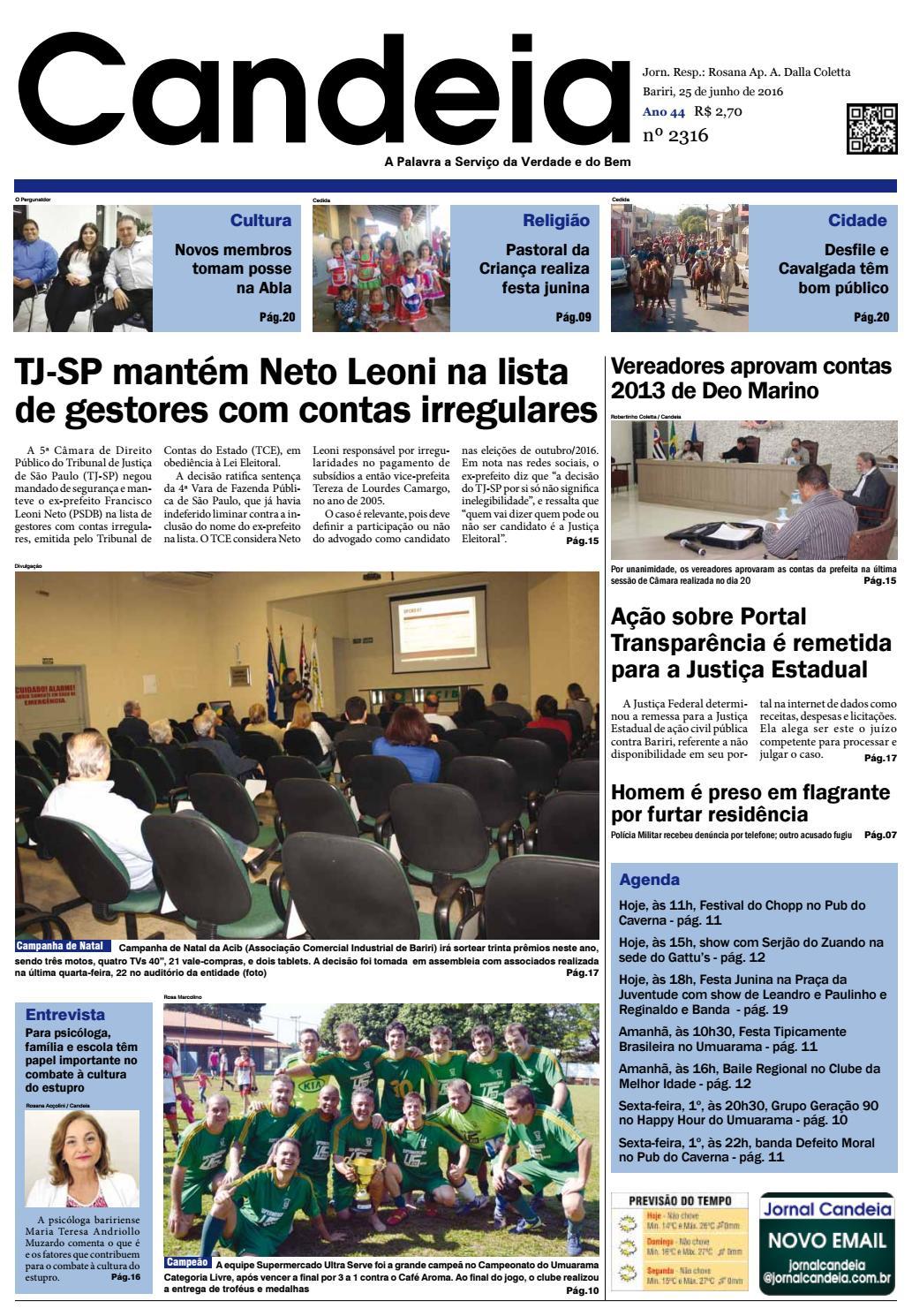 ad2d029937e Jornal candeia 25 06 2016 by Jornal Candeia - issuu
