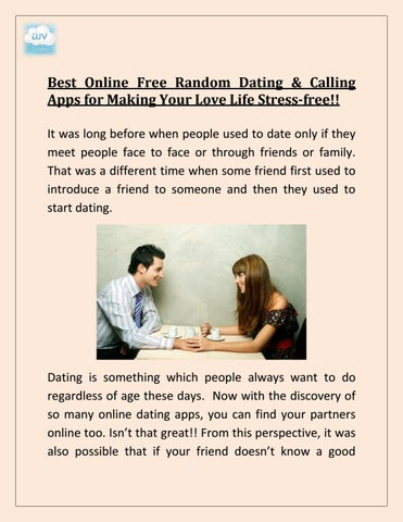 introduce online dating