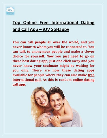 call dating