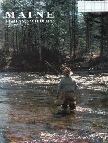Maine fish and wildlife magazine spring 1983 by maine for Maine fish wildlife