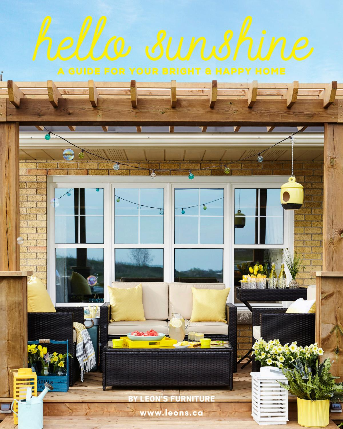 Leon S Hello Sunshine By Leon S Furniture Issuu