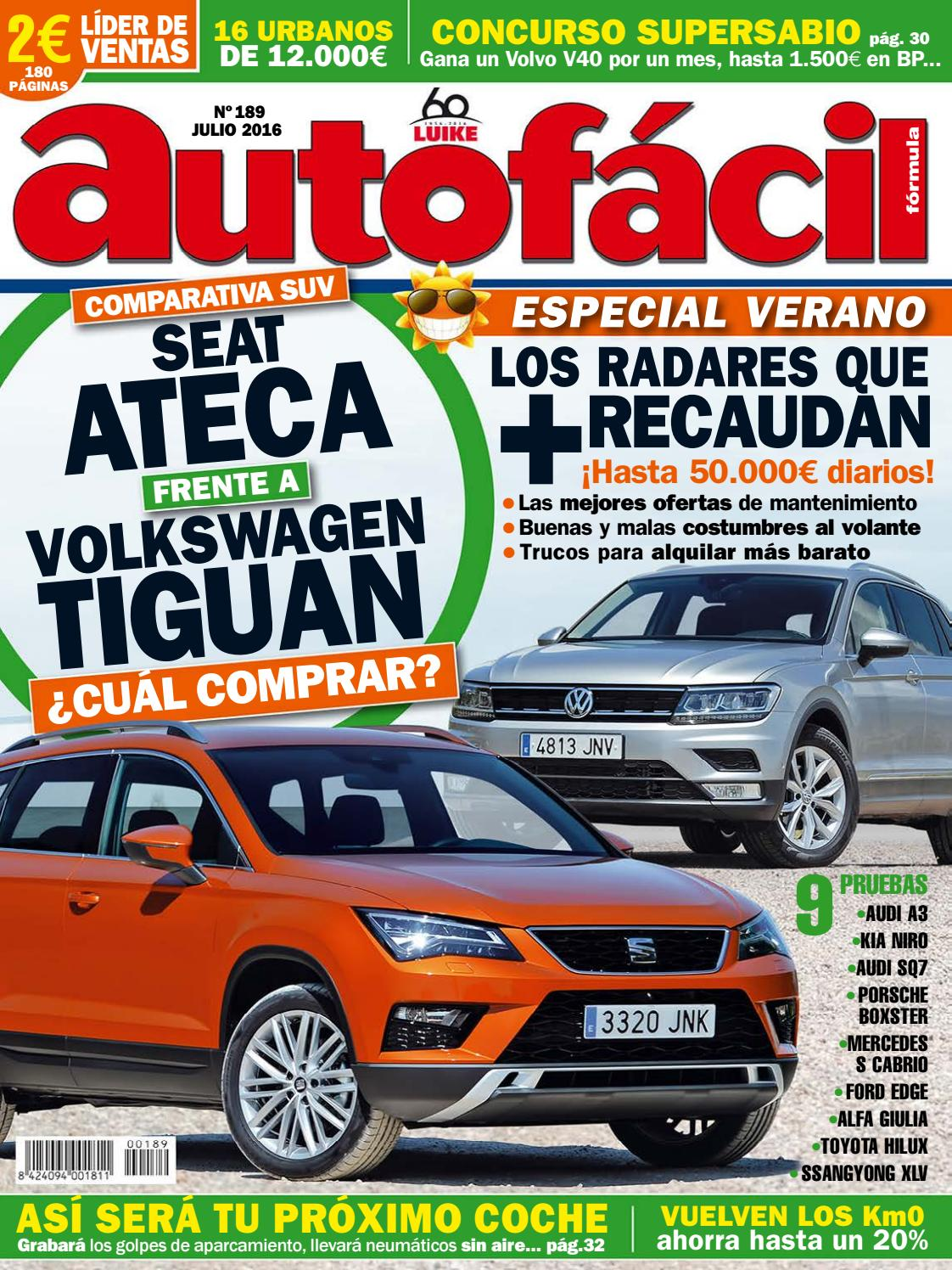 fe89f3b3b8 Autofácil Nº 189. Julio 2016 by LIDER - issuu