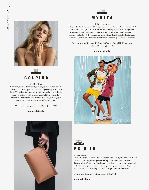 Berlin Fashion Week Magazine 22 by Berlin Fashion Week Magazine - issuu