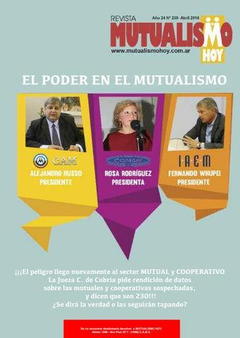 db39d1818b066 Mutualismo hoy 238 ok by José Rey Novo - issuu