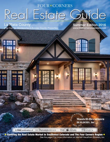 Four Corners Real Estate Guide Summer 2016 by Ballantine