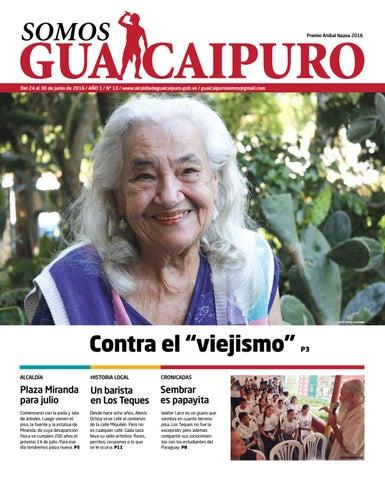 Somos Guaicaipuro Edición Nº 13 By Alcaldía De Guaicaipuro Issuu