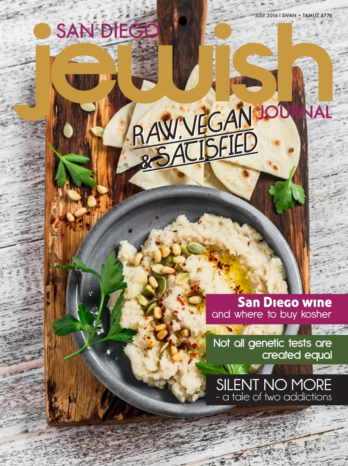 San Diego Jewish Journal July 2016 By San Diego Jewish Journal Issuu