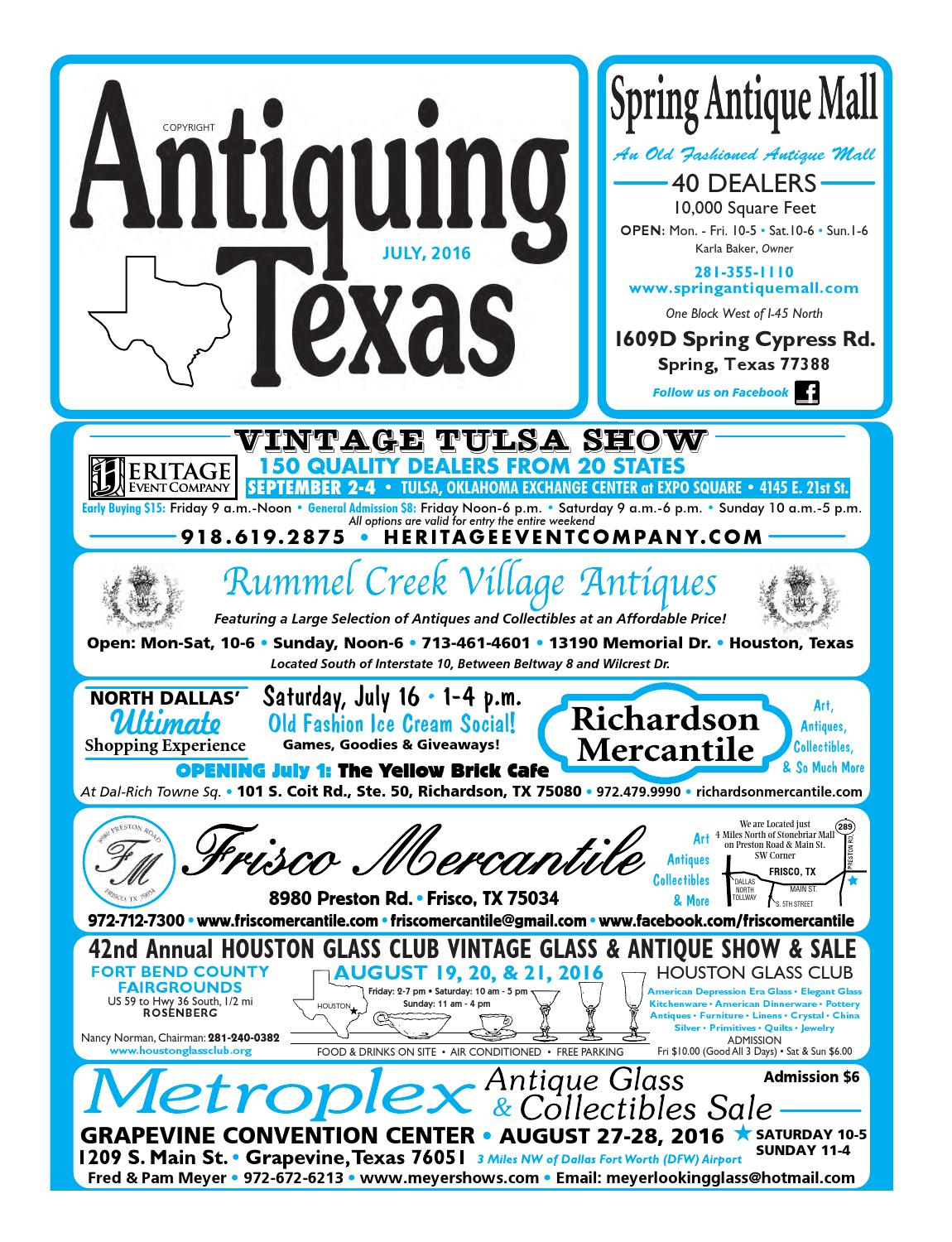 Ant tx upload 7 16 by Antiquing Texas - issuu