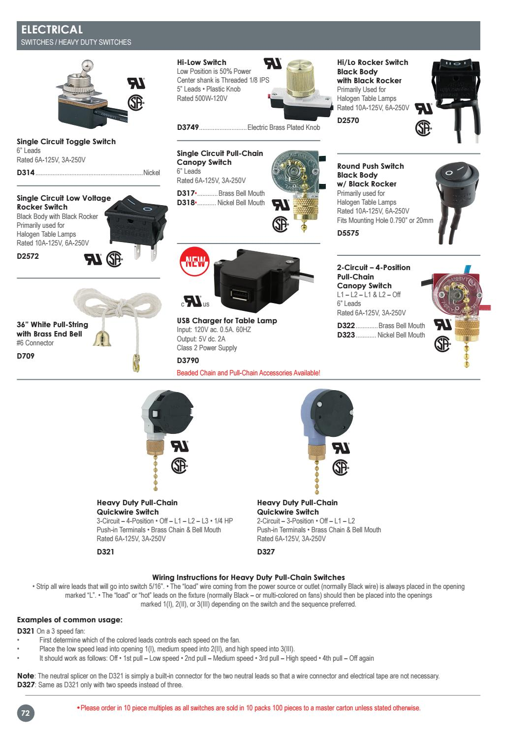 4 pin rocker switch wiring diagram 125v outdoor flood