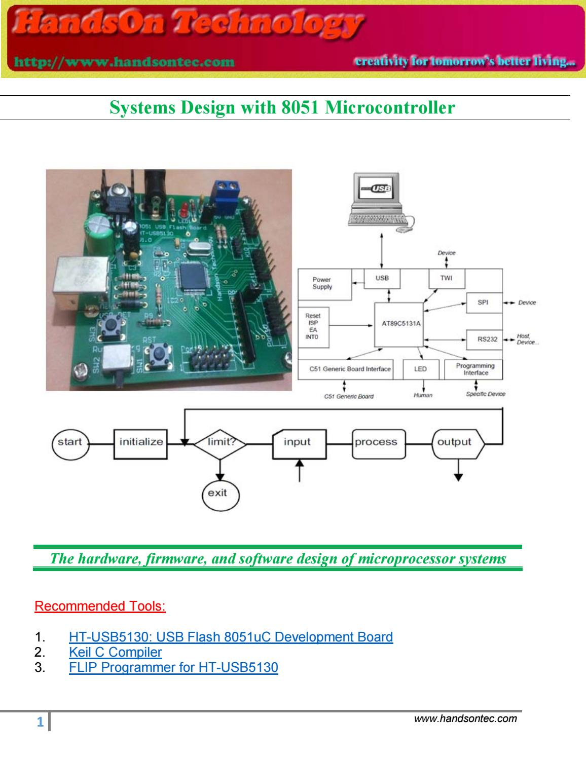 System Design And 8051 By Lee Yuan Issuu Microcontroller Crystal Circuit