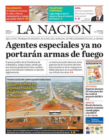 DIARIO LA NACIÓN EDICIÓN 7.665 by La Nación - issuu 01e6a9ab7a8a4
